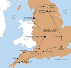 Scenic England Escorted Tour Days Chronos Travel - Tours of england